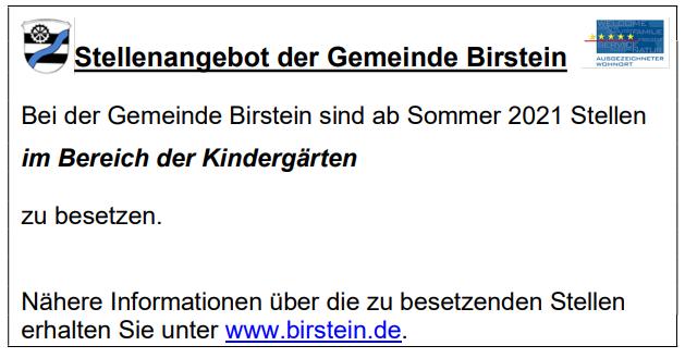 Wetter Birstein