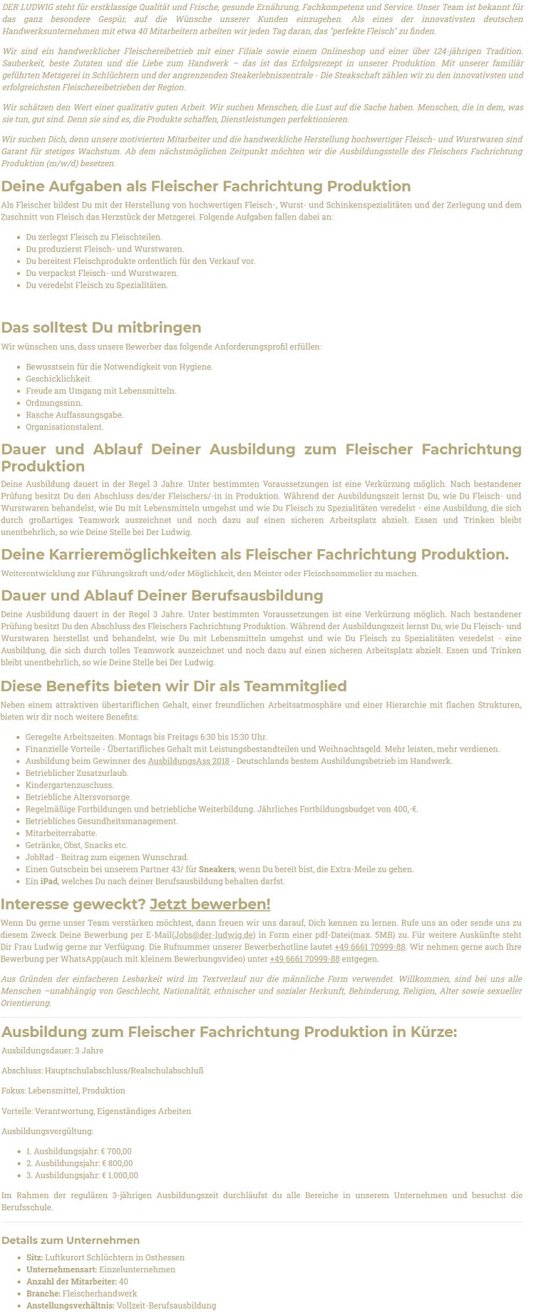Azubi_Fleischer_Produktion
