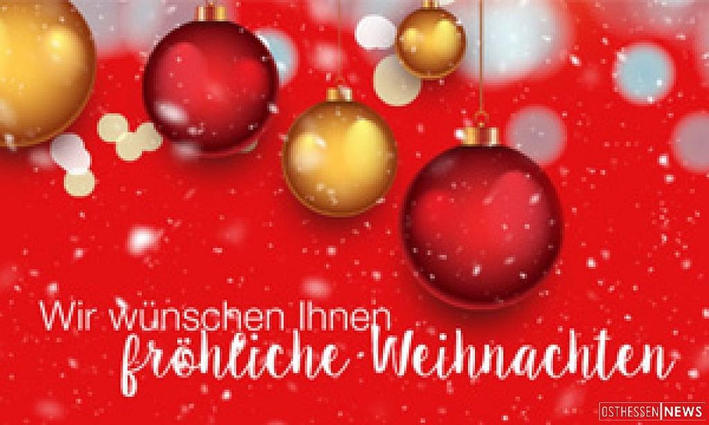 Firmen Weihnachtsgrüße.Osthessen News überbringt Video Weihnachtsgrüße Osthessen News