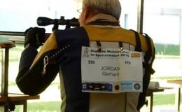 Größter Erfolg: Schütze Gerhard Jordan krönt sich zum Deutschen Meister