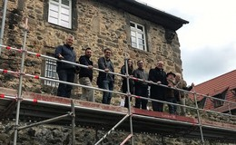 Klostermauerweg bleibt während Bauarbeiten gesperrt
