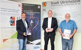"""Start HESA-Dauerausstellung """"Gebäudesanierung"""" im Rathaus"""