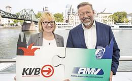 Kooperation von RMV und Kölner Verkehrs-Betrieben