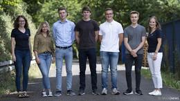Vier neue Auszubildende bei der DUO PLAST AG