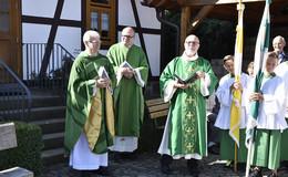Feierliche Wiedereröffnung der Kirche in Rimmels