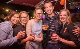 Künzeller Weinfest: wo man Montags in den Dienstag tanzt