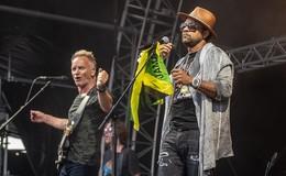 Sting und Shaggy auf dem Domplatz: zurück zu den Wurzeln mit Karibik-Sound