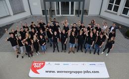 Entdecke die vielfältigen Ausbildungsberufe der WERNER-Gruppe!
