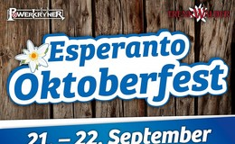 Oktoberfest am 21. + 22.09. in der Esperantohalle