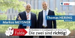 Hessen muss stark und sicher bleiben!