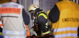 Entwarnung: Doch kein Großbrand bei der Firma ALX Metallbau