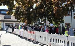 Demonstration gegen ICE Trassen Variante 4 in Schlüchtern