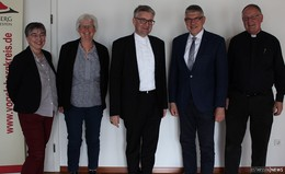 Landrat Görig empfängt Mainzer Bischof Kohlgraf zum Erfahrungsaustausch