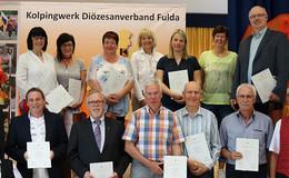 90 Jahre Kolpingsfamilie Giesel: 90 Jahre alt und doch ganz modern