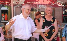 Dekan Dr. Jürgen Sauer feierlich in den Ruhestand verabschiedet