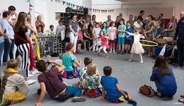 Gaukler im Mittelalter und Vulkanforscher für die Rhön: Kids begeistert dabei