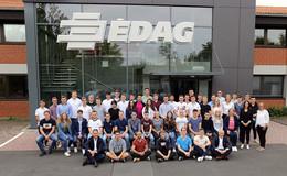 EDAG Gruppe begrüßt 39 Azubis und 14 duale Studenten