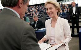 Als erste Frau: Ursula von der Leyen (CDU) ist neue EU-Kommissionschefin