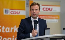 Hessischer CDU-Spitzenkandidat für die EU-Wahl rechnet mit der AfD ab