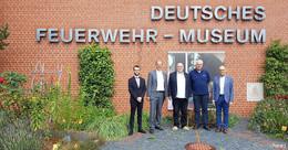Spitzentreffen mit THW-Präsident im Deutschen Feuerwehr-Museum