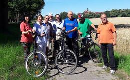 Dritte Sommerbegehung: CWE für Verbesserung der Radwegequalität