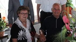 Edith und Heinz Völkner aus Niedermittlau feiern Diamantene Hochzeit