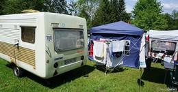 Treffen der Oldtimerwohnwagen am Dippacher Campingplatz