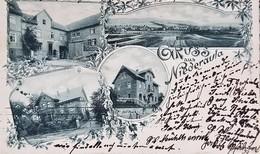Alte Postkarte wieder aufgetaucht: Grüße aus dem Jahre 1899