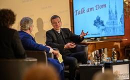 """XXL-Ausgabe vom """"Talk am Dom"""" mit Bischof Gerber und Intendant Hinkel"""