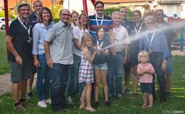 Nachwuchsarbeit: CDU besucht die Brandschützer von heute und morgen