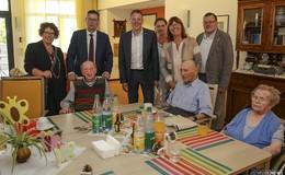 Thorsten Schäfer-Gümbel zu Besuch in der Senioren-Dependance Neuberg