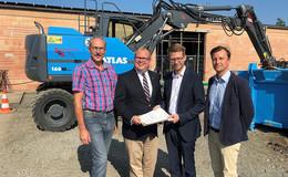 80.000 Euro Fördermittel zur energetischen Sanierung des Baubetriebshofs