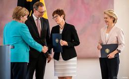 Ärger an der CDU-Basis und Frust in der Truppe: Wie will AKK das schaffen?