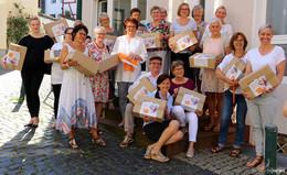 Übergabe von Baby-Erstausstattung von Kolping an SkF Fulda