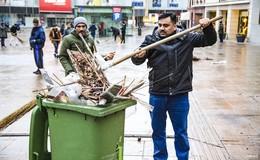 Ahmadiyya-Gemeinde kehrt erneut den Uniplatz - Zeichen für Miteinander