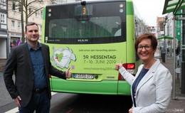 Zum Hessentag gibt es  Änderungen im Busverkehr