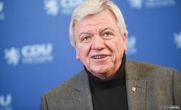 Ministerpräsident Volker Bouffier hat Hautkrebs - führt Amtsgeschäfte fort