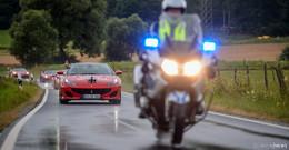 Ferrari-Treffen: 70 Sportwagen touren durch das Land der offenen Fernen