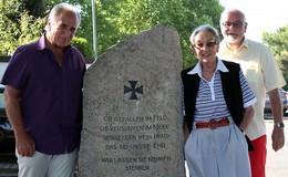 Der Ortsbeirat renoviert Ehrenmal in Johannesberg