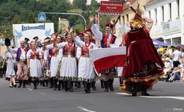 Besonderer Höhepunkt: Historischer Festzug beim internationalen Trachtenfest