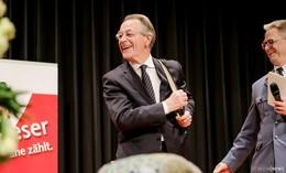 Festredner Franz Müntefering: Wir brauchen mehr Lebensqualität im Sterben