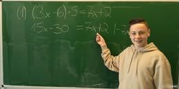 Marianumsschüler holt den Kreistitel beim diesjährigen Mathematikwettbewerb