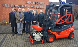 Deutsches Feuerwehr Museum hat einen neuen Gabelstapler