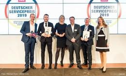 Übergabe des Deutschen Servicepreises an Getränke- Heurich