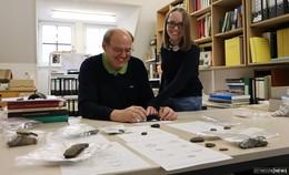 Archäologin Steffi Rößner ist Stipendiatin und promoviert über die Milseburg