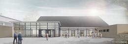 Bauarbeiten an der Festhalle Friedewald starten