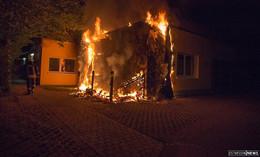 Nach Brand im Kindergarten Wolkenland: Ermittler gehen von Brandstiftung aus