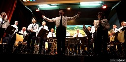 Landespolizeiorchester Hessen gab Benefizkonzert in der Rhön