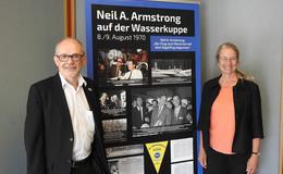 """Ausstellungseröffnung von """"50 Jahre Mondlandung: Wir kamen in Frieden…"""""""