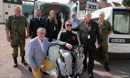 Dicht dran an den Menschen mit Behinderung: Holen, Bringen, Begleiten